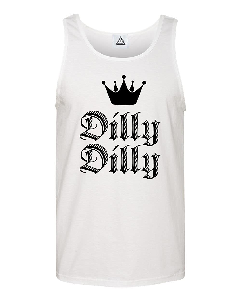 Sheki Apparel Dilly Dilly Gold Crown Funny Beer Saint Tank Top
