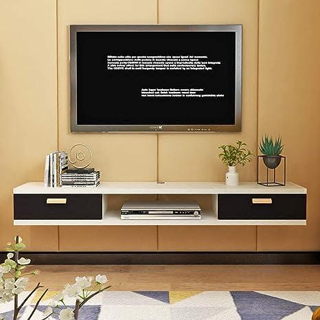 Mueble de TV Montado en la Pared Dormitorio Sala de Estar Estante ...