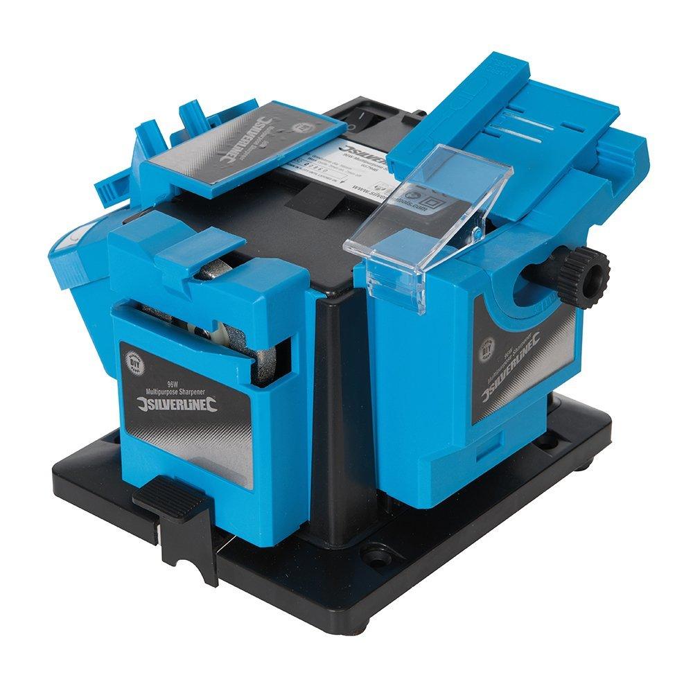 Silverline 657946-96W DIY Multipurpose Bit & Blade Sharpener 230V