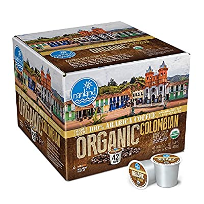 nanland Colombian Organic Single Serve K-cup