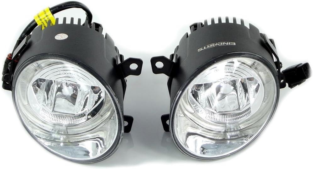Duolight Tagfahrlicht Nebelscheinwerfer Led Für Vw Golf V Gti Variant Jetta 3 90mm Auto