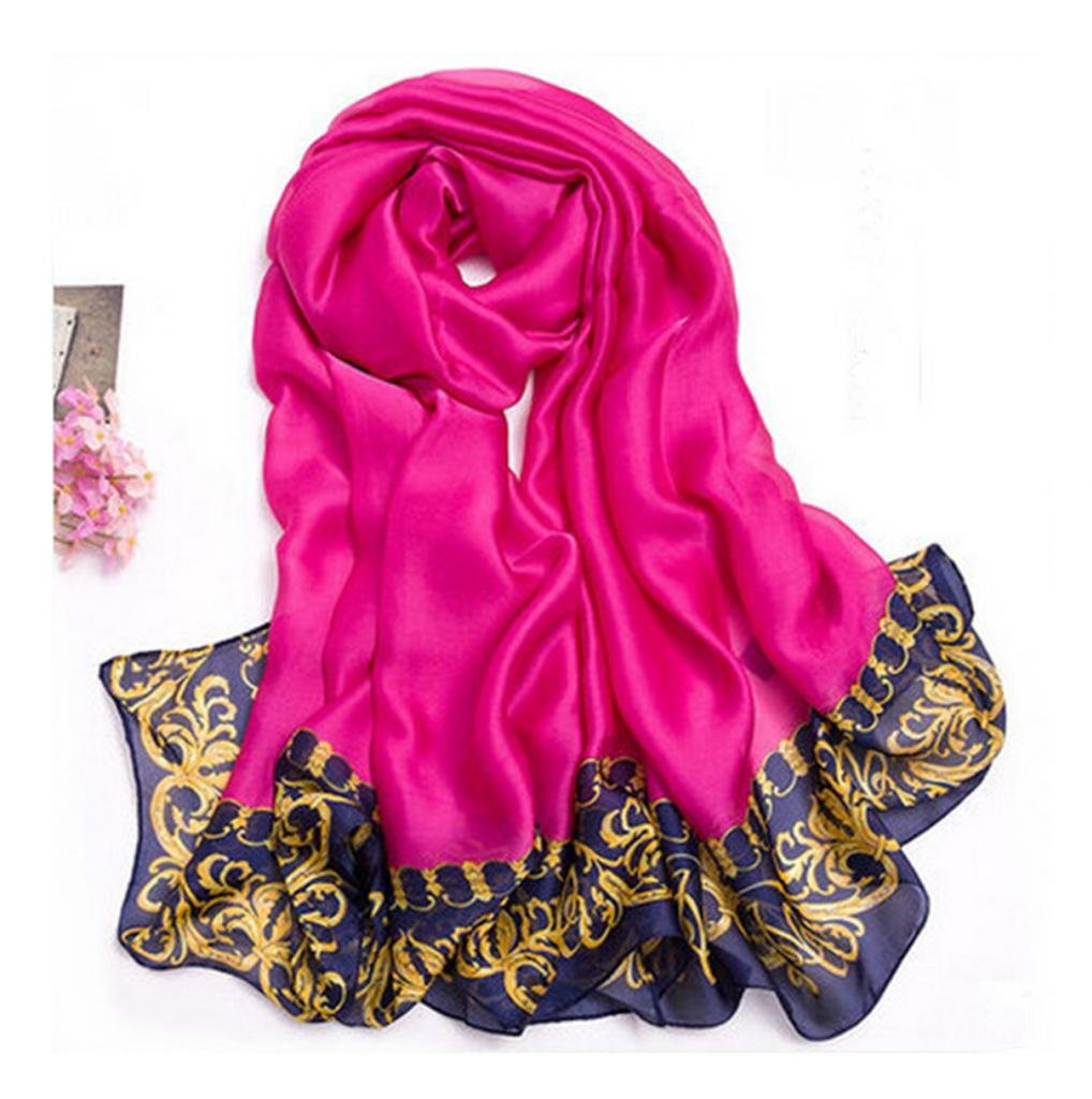 100% pure silk De Paris Scarf Thin Long Scarf Wrap Silk Scarves For women Girl Lady