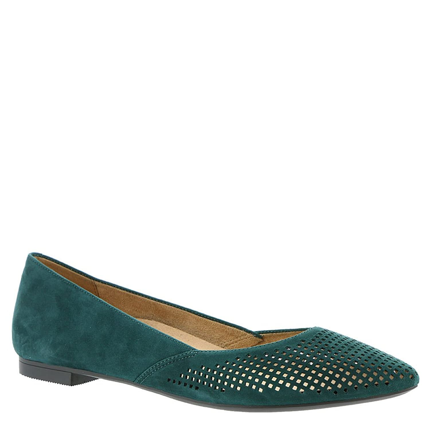 Womens, Posey Pointed Toe Fashion Flats Teal 9.5 Vionic