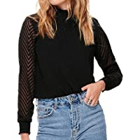 Only Onlnew Kayla L/S Top Wvn Blusa para Mujer