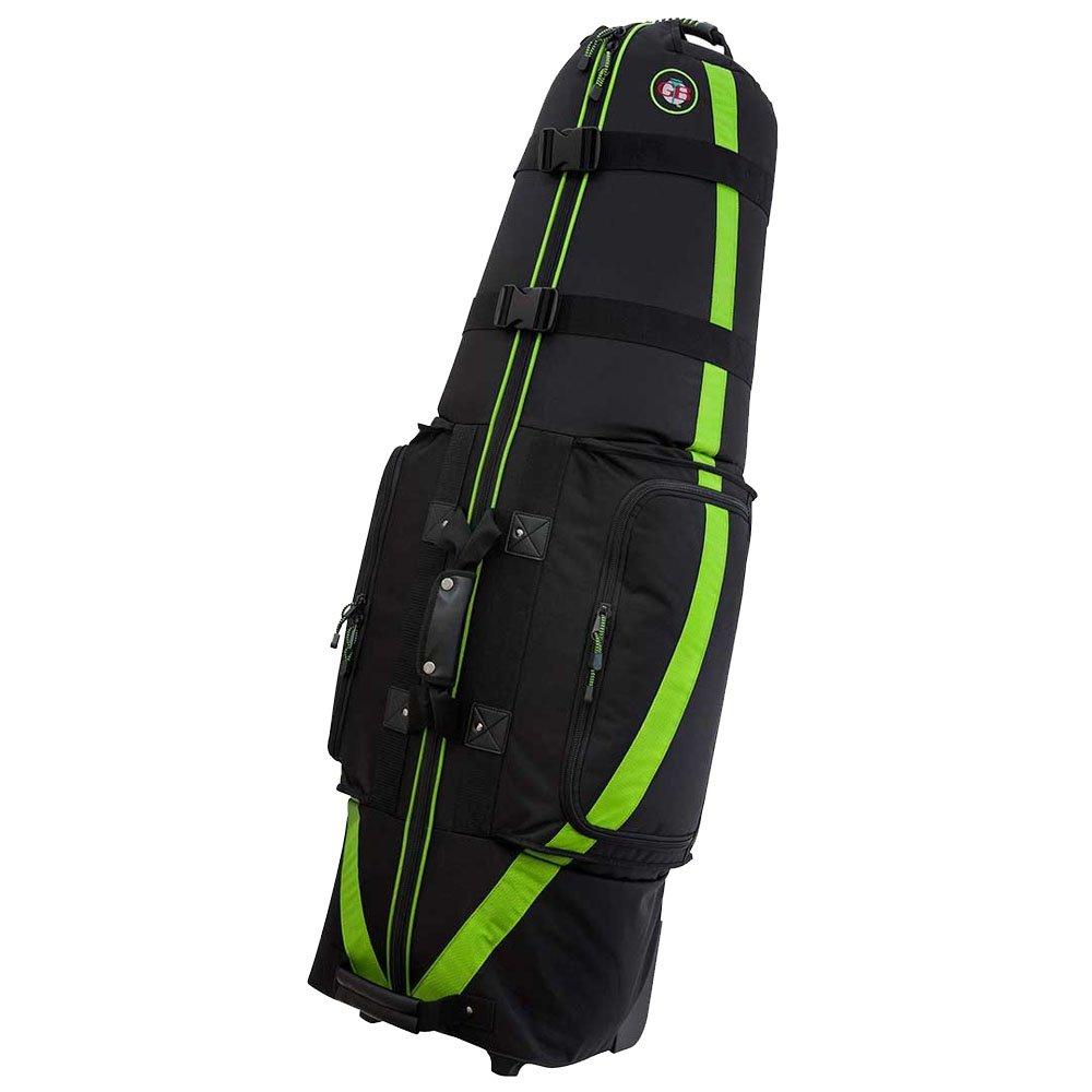 Golf Travel Bags GTB 2018 Medallion 6.0 Travel Covers Black/Green by Golf Travel Bags