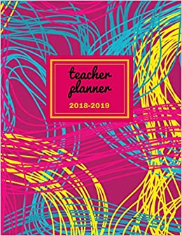 buy teacher planner 2018 2019 nu dated lesson plan book teacher