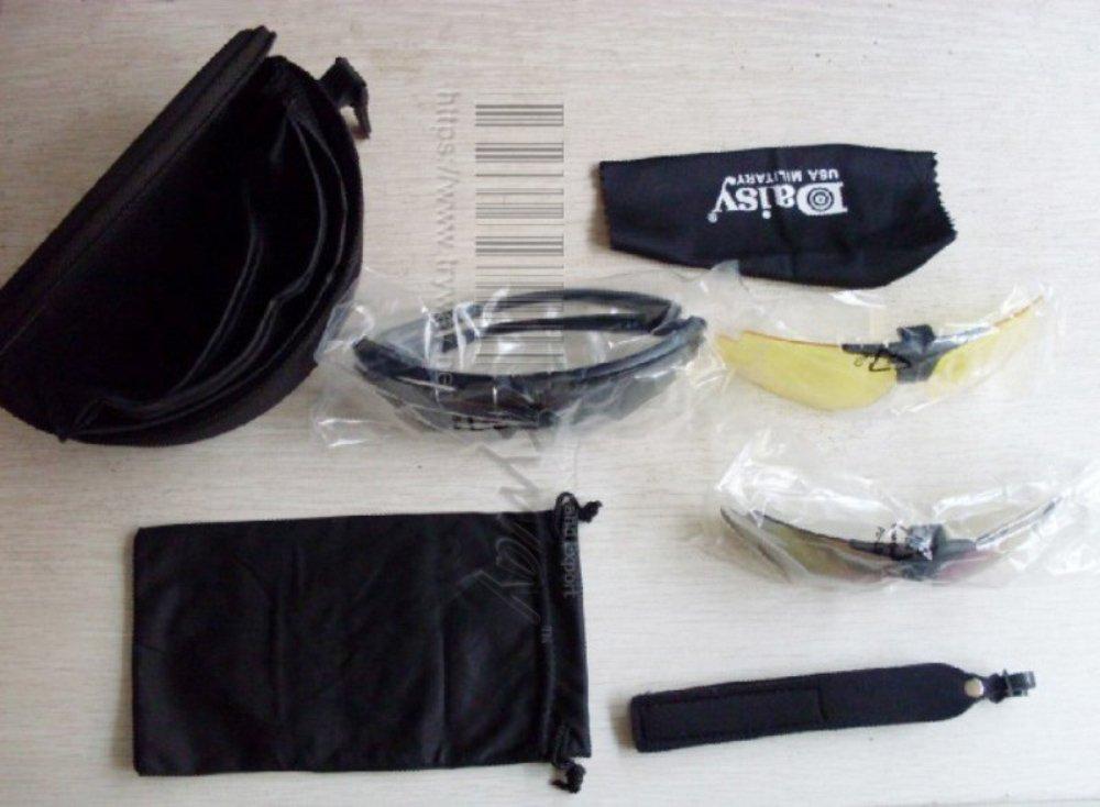 Tactical Brillen UV400/Schutz Daisy C1/Airsoft Motorrad Sonnenbrille Jagd Outdoor Brillen Motor Brille f/ür Herren Kit Herren Combat Krieg Spiel Gl/äser
