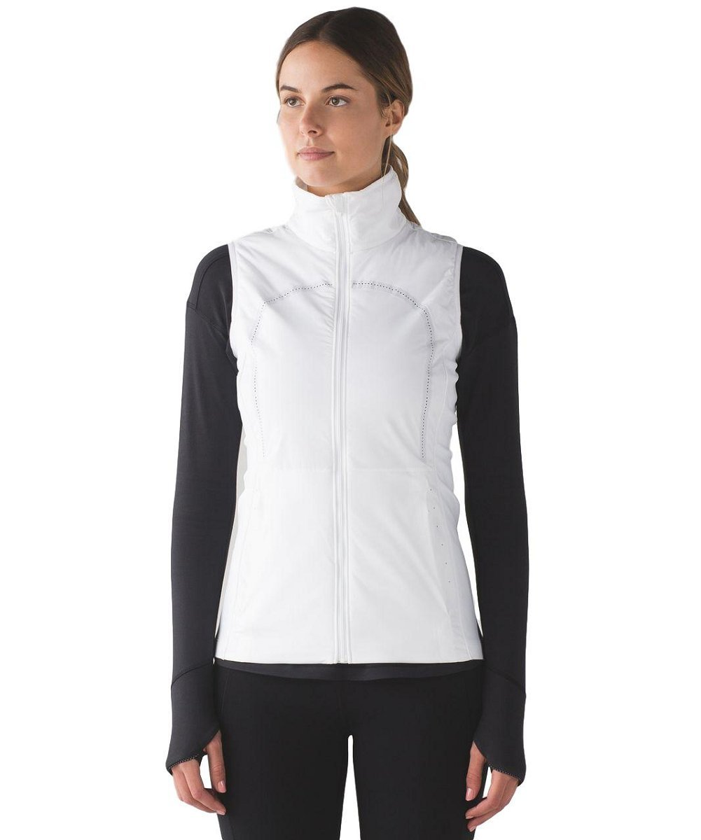 Lululemon - Run for Cold Vest - White - Size 10