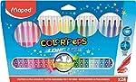 Caneta Hidrográfica, Maped, Color Peps Long Life, 845022LM, 24 Cores