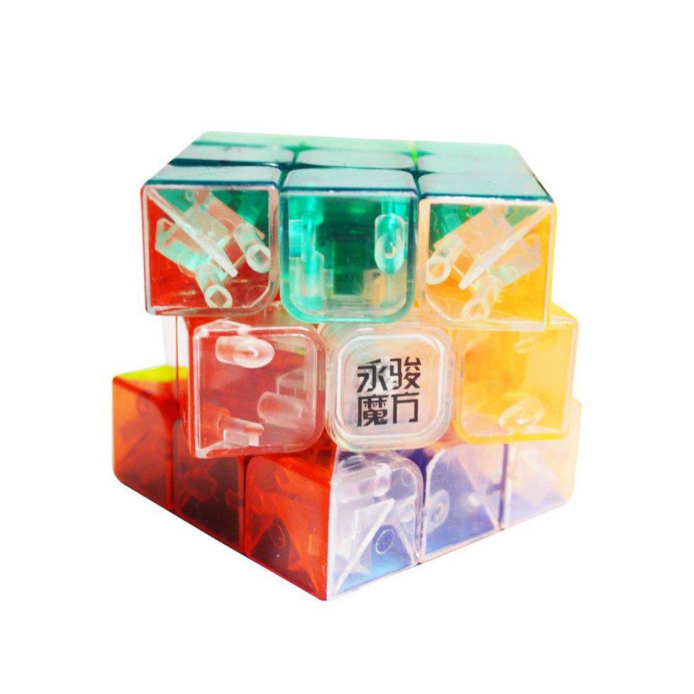 Rosa 3x3x3 geschwindigkeit zauberw/ürfel Wings of wind umweltfreundliche kunststoffe zauberw/ürfel stickerless glatt puzzle cube