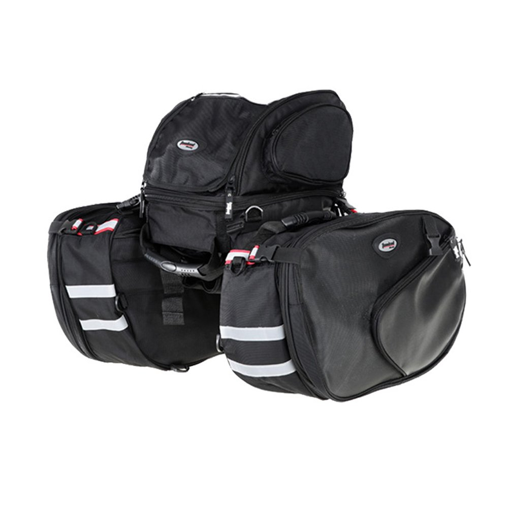 Motorcycle Riding Bag Large Capacity Bike Pannier Bag Saddle Backpack Riding Tank Bag Rack Rear Trunk Bag
