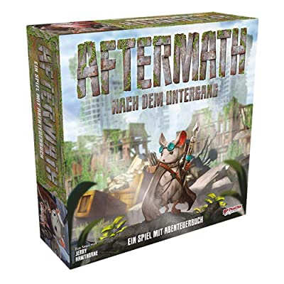 Plaid Hat Games Aftermath: an Adventure Book Game, Multicolor: Toys & Games