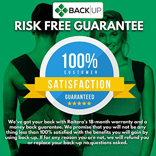 Back-up | Comfortable & Effective Posture Corrector for Women & Men | Clavicle & Shoulder Brace | Back Support | Lower & Upper Back Pain Relief | Cervical & Lumbar Support - Fully Adjustable by Raitera Health & Wellness (Image #7)