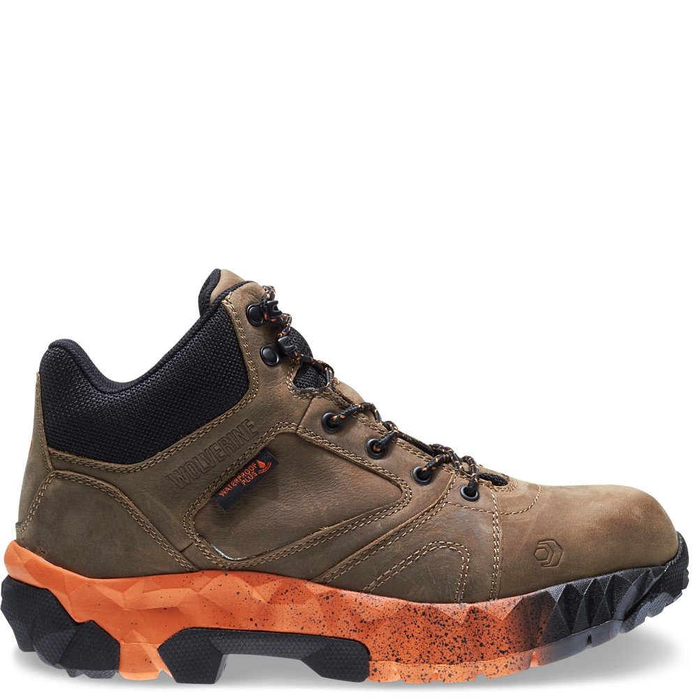 Wolverine Gravity EPX CarbonMax 6'' Boot Men 10.5 Tan