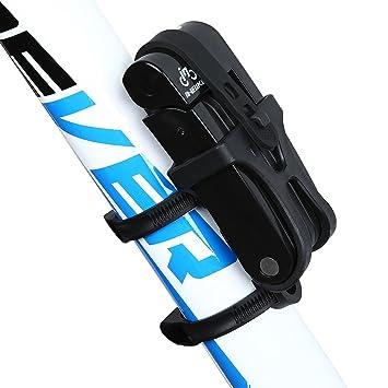Inbike Bicicleta Plegable de Acero de Aleación de 8 Juntas Lock Anti-Hydraulic con Soporte