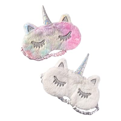 TOP TRENZ Unicorn Sleep Masks - 2 Pack: Home & Kitchen