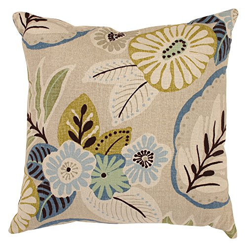 Pillow Perfect Decorative Tropical Floral