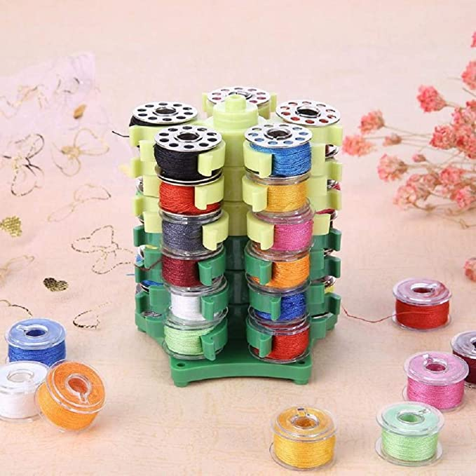 High Grade Stack /'N Store Bobbin Tower for Sewing Quilting Embroidery Thread