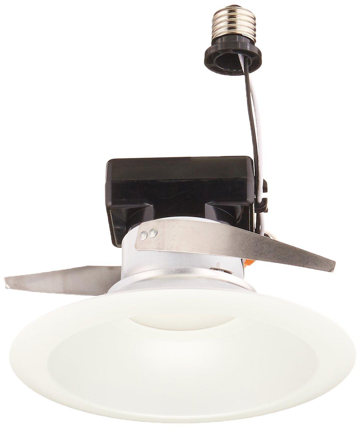 Hubbell-Prescolite LB6LEDA10L35KWH LB6LEDA10L35K WH Round LED Downlight Module, 6'', White