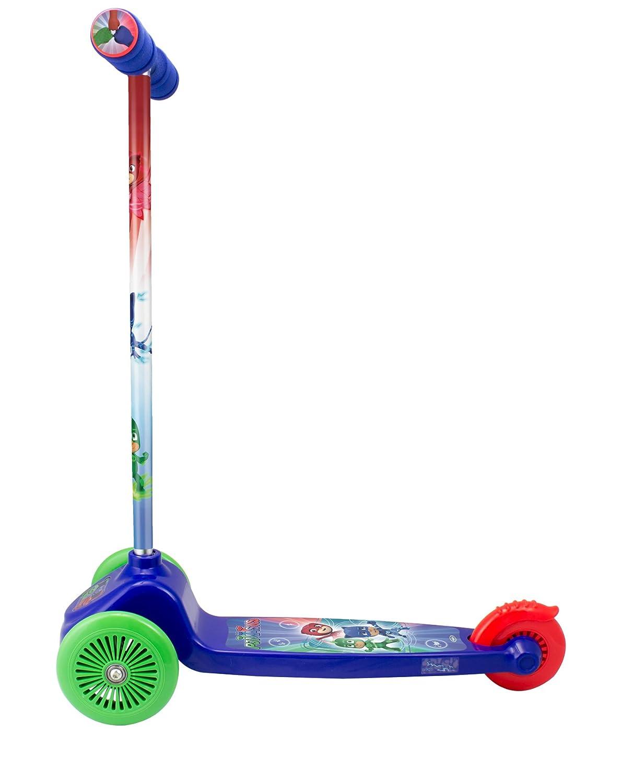 Amazon.com: PJ Masks OPJM199 Kids Three Wheel Flex Scooter ...