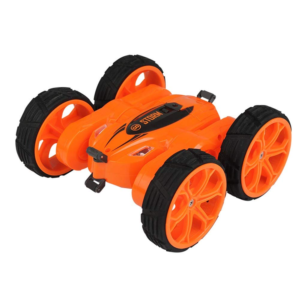 1/18 RC Stunt Car Rock Crawler Double Sided 360°Spins and Flips Off Road High Speed Truck 2.4GHz 4WD Remote Control Monster Truck RTR Buggy RC Car for Kids & Adults