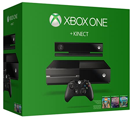 Amazon xbox one 500gb console with kinect bundle includes amazon xbox one 500gb console with kinect bundle includes chat headset video games sciox Image collections