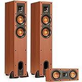 klipsch wf 35. Klipsch R-24F Reference Floorstanding Speakers With R-25C Center Speaker (Cherry Wf 35