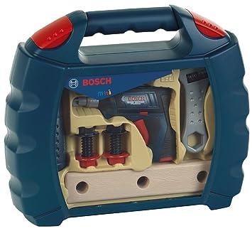 Theo Klein 8262 Bosch Workcase Mit Akkuschrauber Profiline Blau