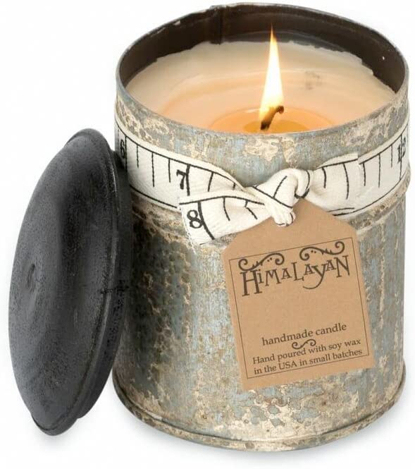 Himalayan Candles Spice Tin Soy Candle 10-Ounce Ginger Patchouli