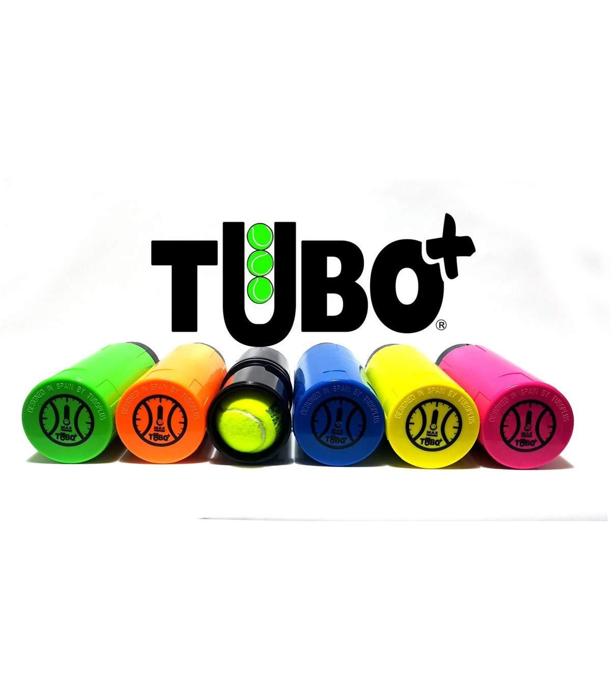 TUBOPLUS presurizador pelotas padel y tenis + Bote de pelotas HEAD PADEL PRO S + Protector ZRZ a elegir: Amazon.es: Deportes y aire libre