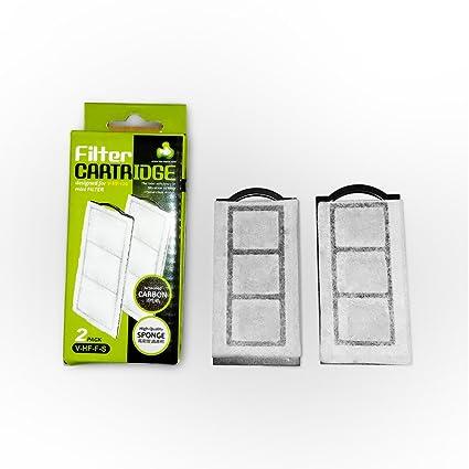 amazon com replacement aquarium carbon filter cartridge for mini