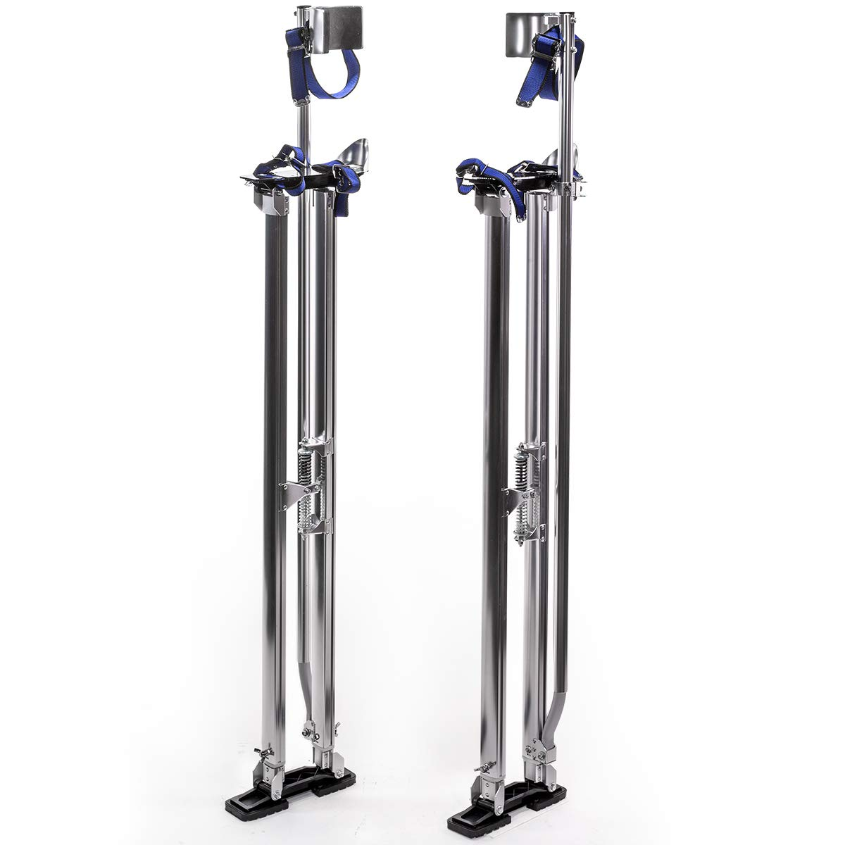 Stark Professional Drywall Stilts Drywall Lifts Height Walking Stilt for Painting Painter Taping Strap Adjustable 46'' - 64''