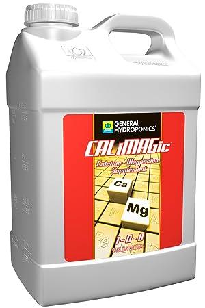 2, 5 L. - calimagic - Calcio Magnesio Suplemento - 1 - 0-0 relación NPK - General hidroponía gh1774: Amazon.es: Jardín