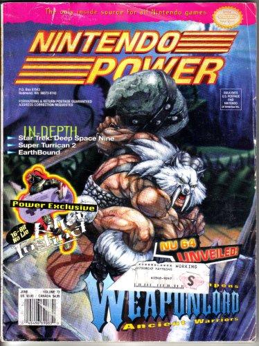 Nintendo Power Magazine - Weaponlord (Volume - Game Boy Star Trek