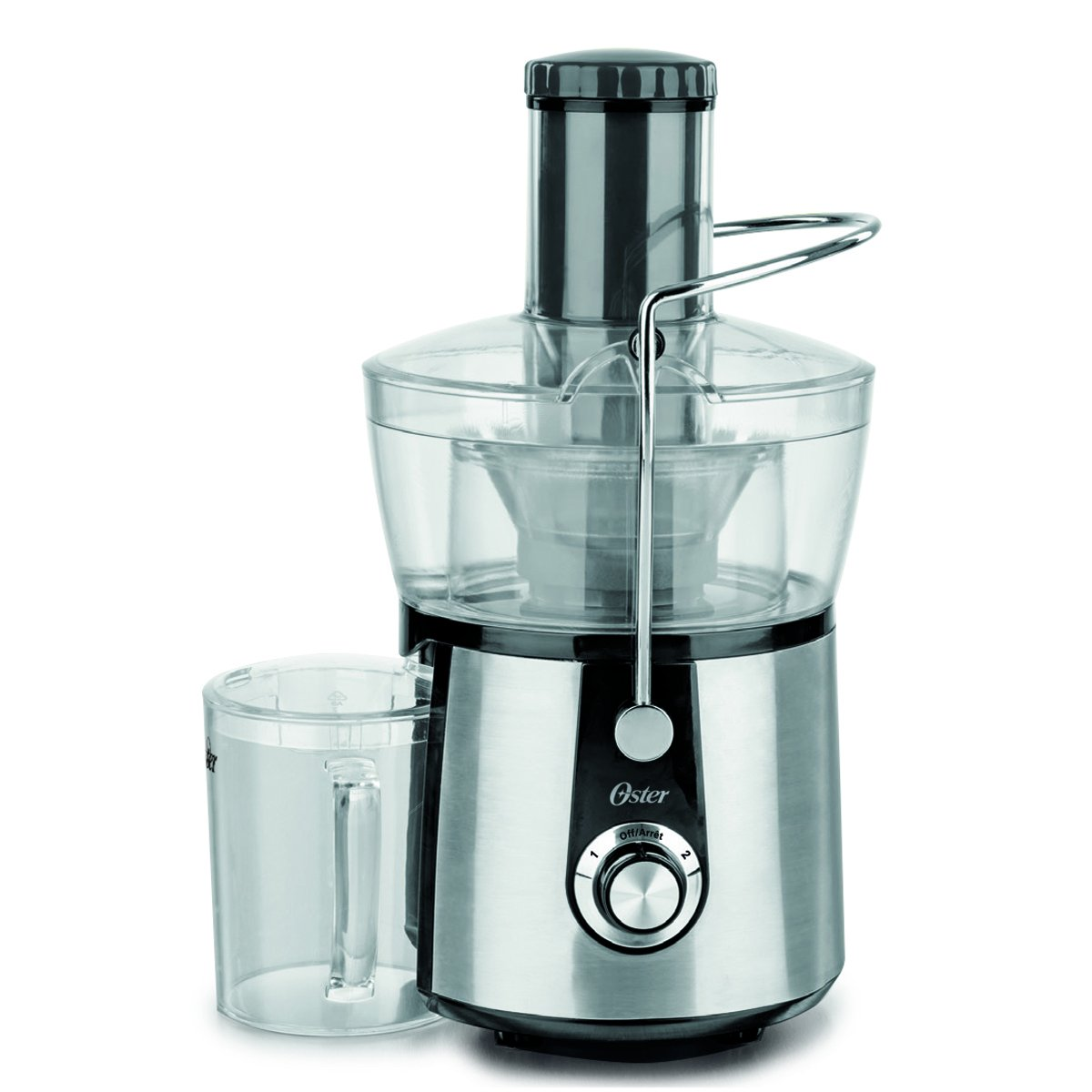 Oster FPSTJE416-033 Stainless Steel Juice Extractor, Stainless Steel