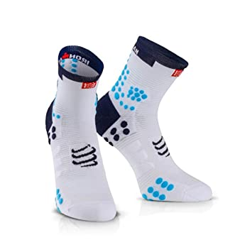 Compressport Calcetines ProRacing V3.0 Run Hi Ironman 2017 Azul - T1