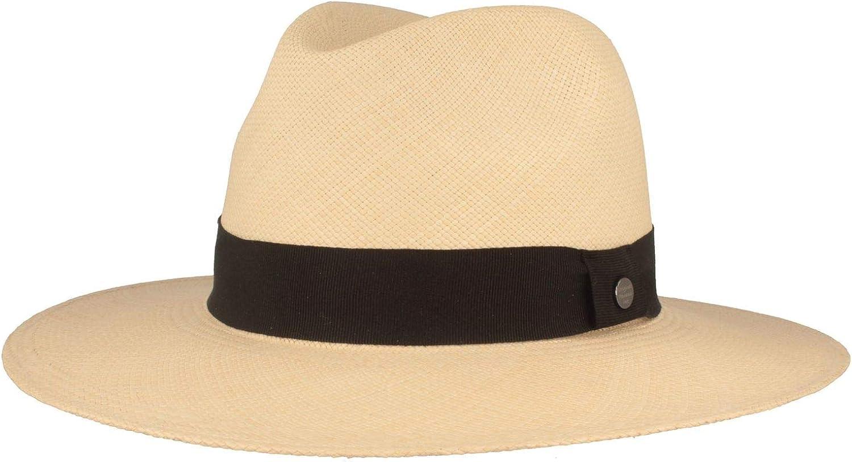 antirottura Intrecciato a Mano Breiter Cappello Panama Largo Originale in Paglia Protezione UV 50+ Estivo in Ecuador