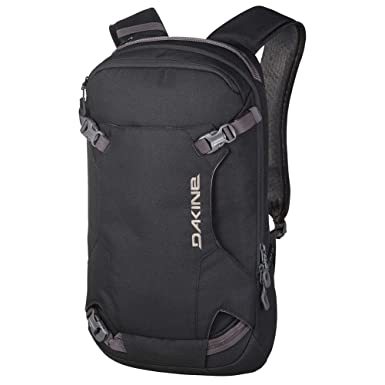 Amazon.com: Dakine Men's Heli Pack 12L Backpack, Black, OS: Sports ...