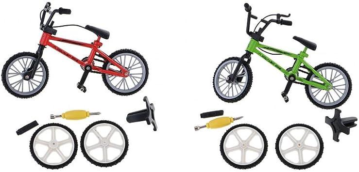 sharprepublic 2pcs Dedo Creativo Bicicleta Mountain Bike Boy ...