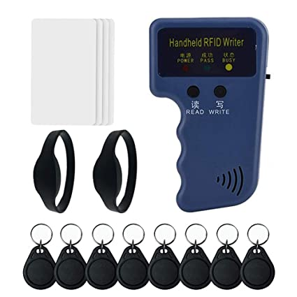 Amazon com: Handheld 125khz RFID Card Copier Duplicator for