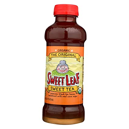Amazon Com Sweet Leaf Iced Tea The Original Case Of 12 16 Fl Oz Grocery Gourmet Food