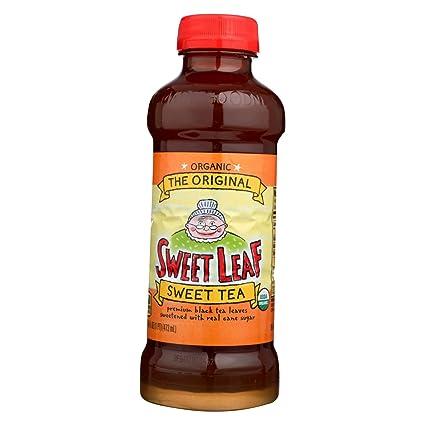 Amazon Com Sweet Leaf Iced Tea The Original Case Of 12 16 Fl Oz Grocery Gourmet Food