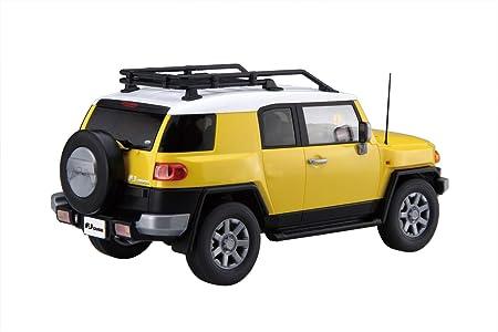 Plastic Model Two-Tone Yellow 1//24 Car Next Series No.10 Toyota FJ Cruiser