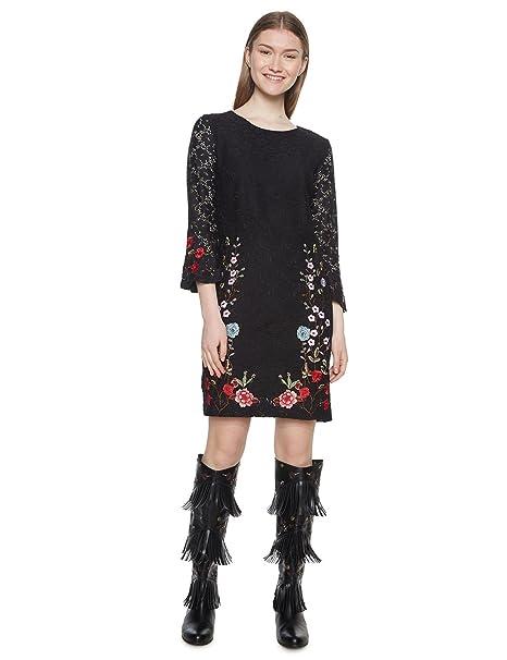 62b801fb727b Desigual Vest_vermond Vestido para Mujer