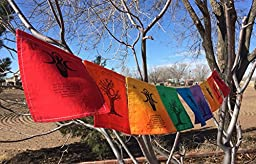 Goddess Prayer Flag. All proceeds to families in Mexico. Free domestic shipping.