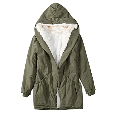 Fleece lined winter coat womens