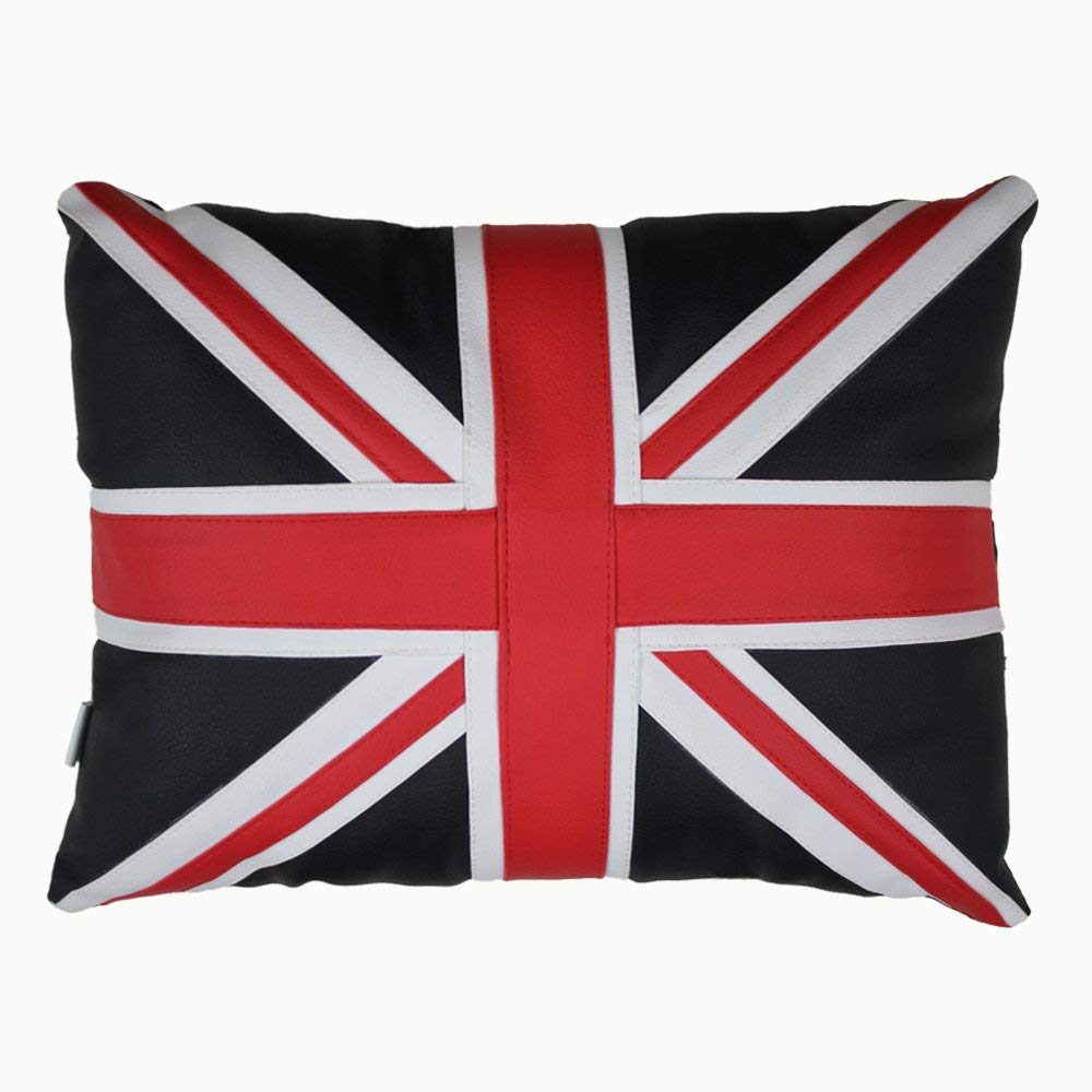 Emmala Union Jack UK Bandera Cojín Almohada Silla De Tela ...