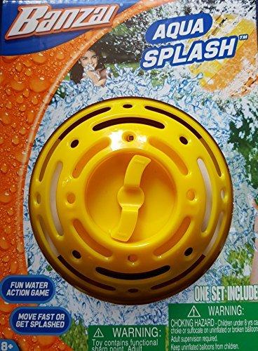 Banzai Aqua Splash Ball Water Timer Game with Balloons (Balloon Splash)
