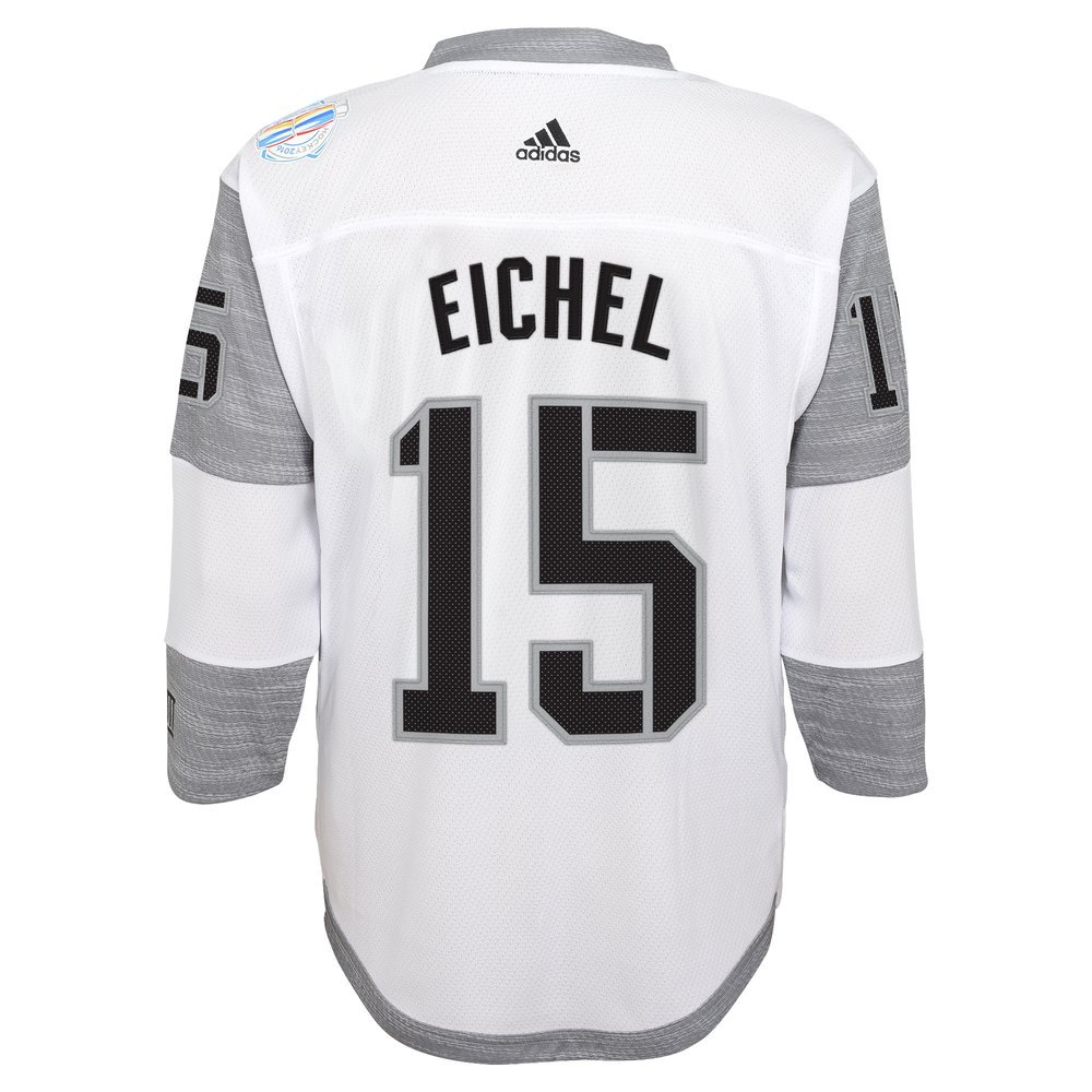 sale retailer 76006 54de7 Amazon.com: Adidas Jack Eichel #15 North America Youth World ...
