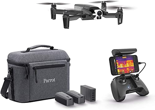 Parrot PF728120 Dron Térmico 4K Anafi Thermal 2 Cámaras de Alta Precisión Cámara Térmica de -10 °CA +400 °C + Cámara 4K HDR el Dron Térmico ...